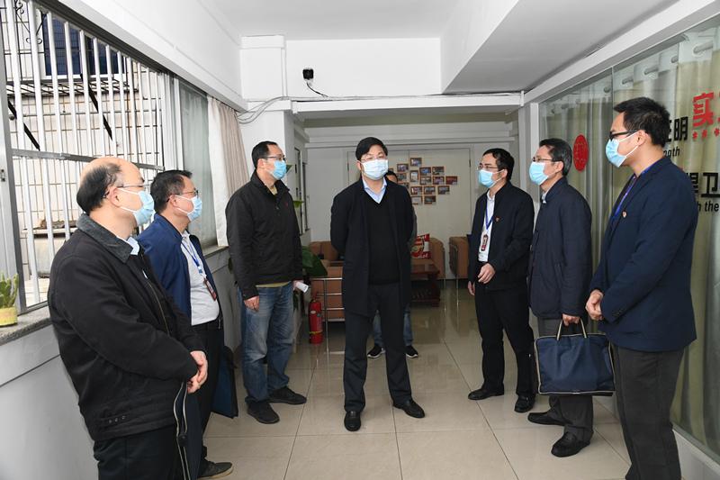 容贤标到南国体投集团、betway338工美院调研疫情防控工作和复产复工情况