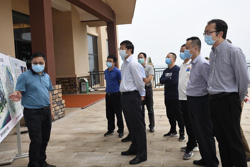 容贤标到北海项目片区调研疫情防控和复工复产工作